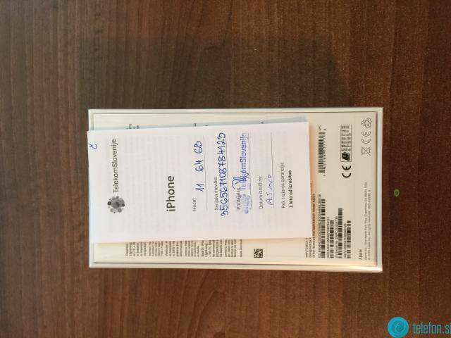 Prodam iPhone 11 64gb -- NOV -- možne menjave