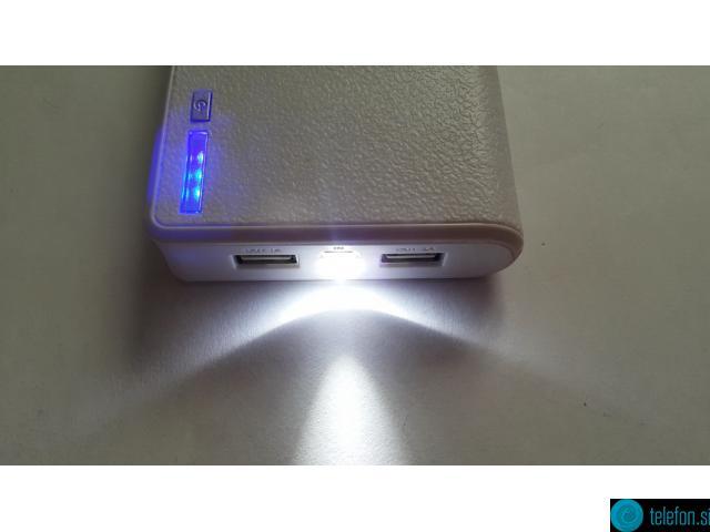 Power Bank zunanja polnilna baterija 6400 mAh (v več barvah)