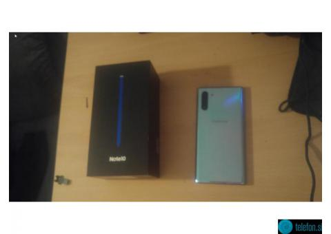 Galaxy Note 10 (modre barve) SM970F 256GB - kot nov