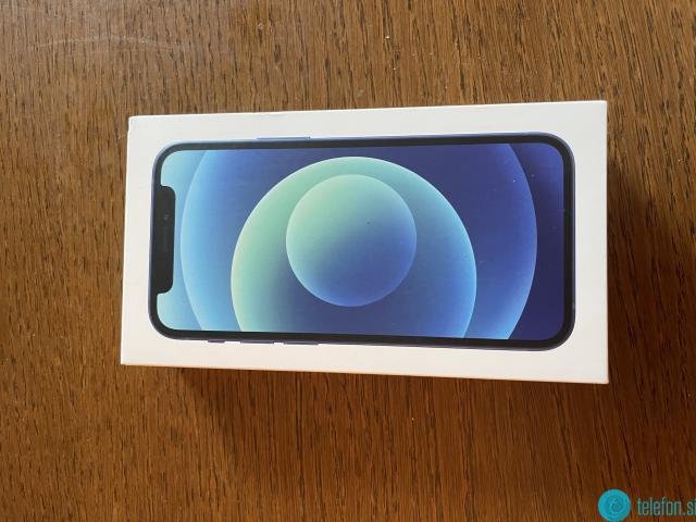 Iphone 12 mini, 128Gb, modra
